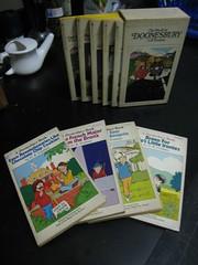 Doonesbury nostalgia (KLGreenNYC) Tags: books garry doonesbury trudeau