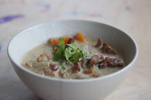 Cantarella mushroom stew