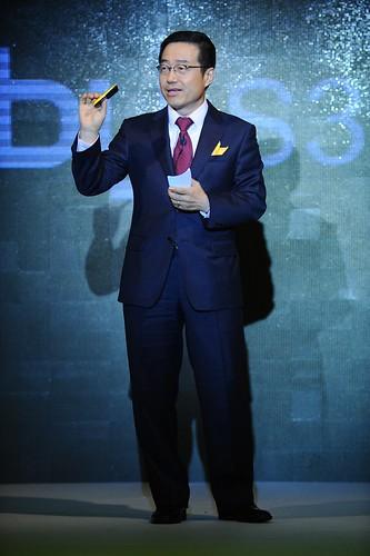 [圖2] 三星電子行動通訊部門及數位媒體部全球業務行銷部門主席暨資深副總裁 DJ Lee 更親自訪台, 展現三星深耕台灣年輕族群市場的企圖心