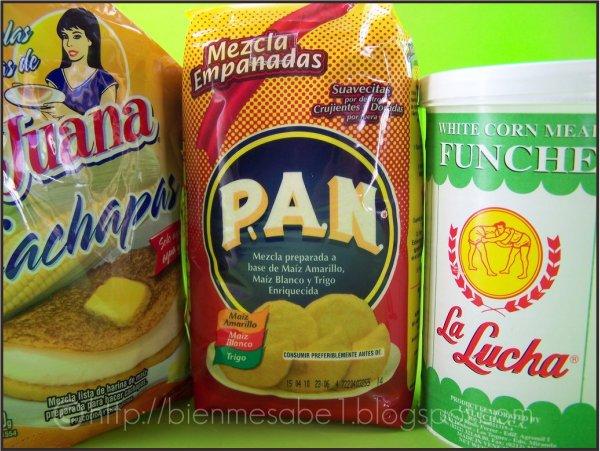 Tres tipos de harina de maiz-2