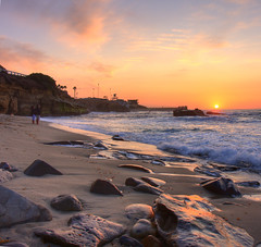 La Jolla Cove Sunset - 11/13/09 (San Diego Shooter) Tags: sunset sandiego sunsets sandiegosunset lajollasunset hdrsunset