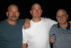 12.30 ~Two Brothers & Dad...Three Bald Men Against Cancer (~♥ Amy) Tags: love brothers compassion baldmen 30daysofgratitude fightthefight yesitwasdarkoutside noshavingheadsinthehouse soouttothegaragetheywent