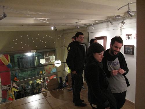 La exposición de Vicenta