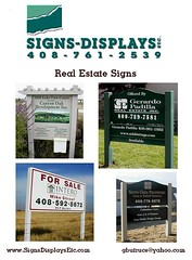 Real Estate flyer (Signs-Displays-Etc) Tags: california sign flyer graphics realestate quality sanjose gary siliconvalley custom campbell southbay santaclaracounty butruce