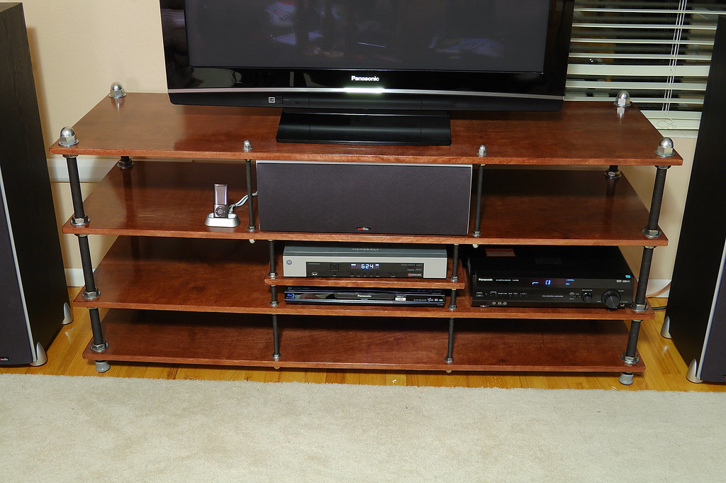 My DIY Flexy Rack TV Stand - Home Theater Forum and ...