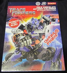 Transformers: Optimus Prime Advent Calendar