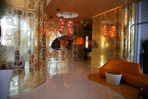 Silk Road Restaurant, Vdara, Designed by Karim Rashid
