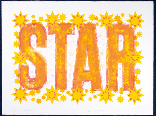 Video thrills – the letterpress star