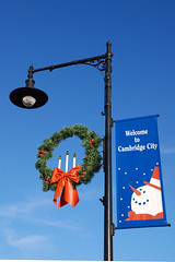 Holiday Banner - Cambridge City, Indiana