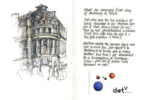 Paris01_05 Opera Sketch 2