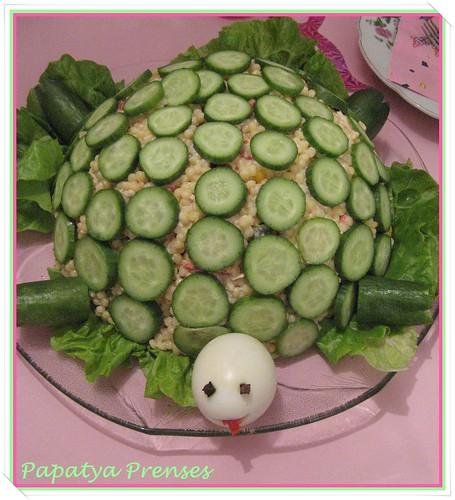 kaplumbağa k.salatası