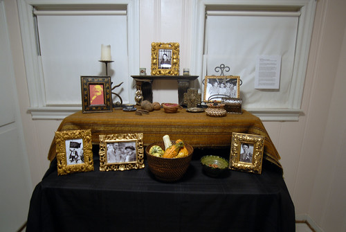 Altar dedicated to Emma Tenayuca by Mark Lacy