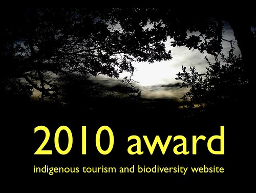 2010 Indigenous Tourism and Biodiversity Website Award