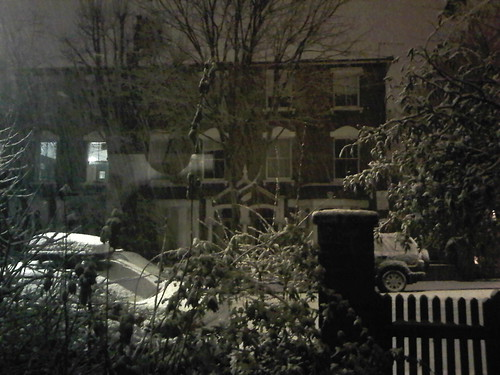 Snow in Islington