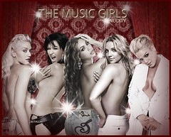 the music girls (BETHGON blends) Tags: pink spears christina gwen britney xtina aguilera blend beyonce bethgon