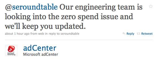 adCenter Zeros