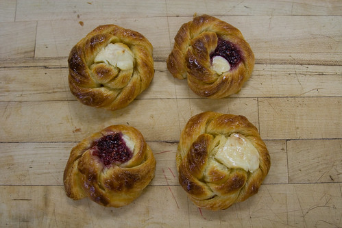 Four Danishes