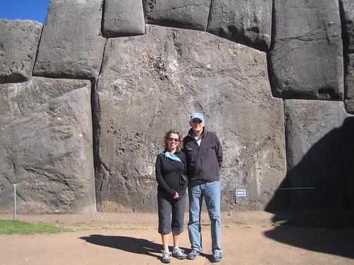 Enormous stone at Sacsayhuaman