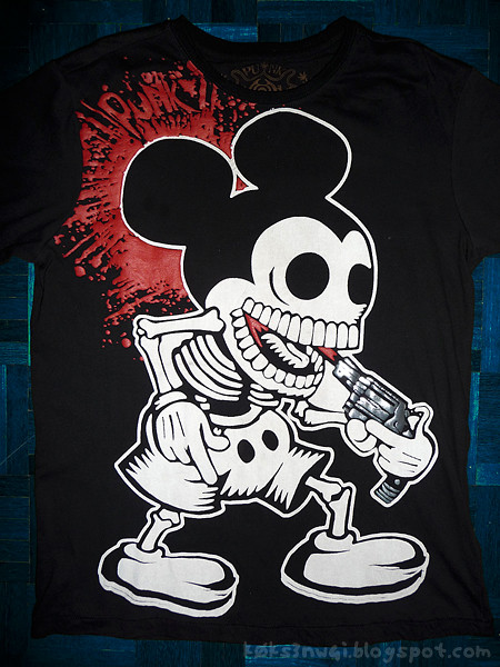 Suicide Skeleton Mickey Shirt