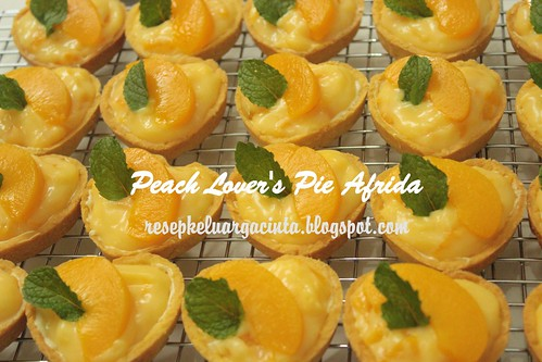 Peach Lover's Pie Afrida