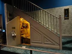 La chambre de Harry chez les Dudley