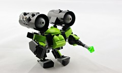 """Grand Dragon"" High-Speed Battle Pod (Deltassius) Tags: mobile frame zero mech mecha robot hardsuit battle pod lego space war military scifi microscale"