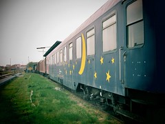 Jernbane 33 ((krungadoren)) Tags: sleepingcar train therailwaymuseumofmiddleandwestjutland midtogvestjyllandsjernbanemuseum railwayhistory railwaymuseum museum struer denmark 2016