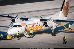 PDX.2013 # QK / AC DHC-8-300 C-GETA - awp (CHR / AeroWorldpictures Team) Tags: air canada jazz de havilland dhc8301 dash 8 cn 186 engines 2x pwc pw123 reg cgeta fleet number 321 history aircraft 01dec1989 first flight toronto downsview yzd 15dec1989 delivered timeair ki taf tsfd canadianregionalairlines cdr named spiritoffortnelson aircanadajazz qk jza config cabin y50 mar2015 painted aircanadaexpress color livery dash8 dhc8 dhc8300 ac apron staff crew planes aircrafts airplanes planespotting portland pdx kpdx oregon or usa nikon airport d300s zoomlenses 70300vr raw lightroom lr5 awp