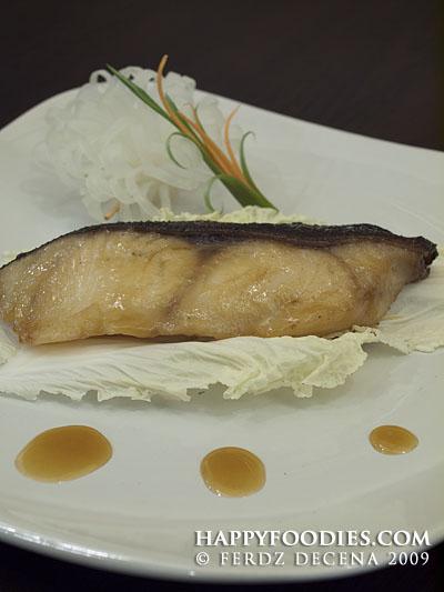 Black Cod Gindara with Sweet Miso Sauce (P680)