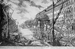 1756 2006 Porto Ripa Grande (Roma ieri, Roma oggi di Alvaro de Alvariis) Tags: italy rome roma tevere 1756 rioneripa portodiripagrande gioavnnibattistapiranesi
