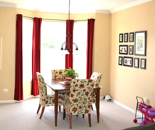 Curtains For Vertical Blind Track Red Kitchen with Curtains