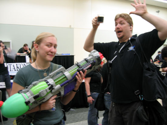 Otakon 2006 - That's a Watergun! (Click to enlarge)