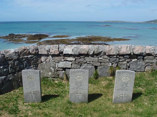 Graveyard in Eriskay