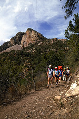Chisos hikers