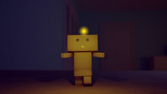 Update. (saucermoron) Tags: 3d animation paraguay danbo danboard
