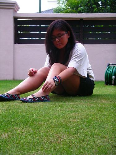 In the garden #1
