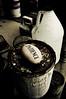 Patience (dogwelder) Tags: california rock rust drip jug burbank zurbulon6 patience paintcan zurbulon