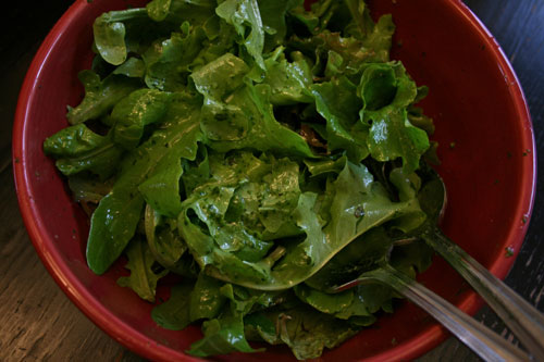 Summer Salads: Recipe for Basil Vinaigrette