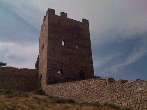 генуэзская крепость. феодосия