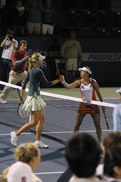 Bank of the West Classic 2009 - Sharapova vs. Sugiyama by amorimur