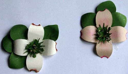 Dogwood from Paper Bouquet