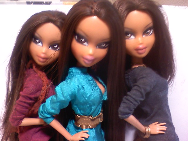 kourtney, kim, khloe by BratzBoi