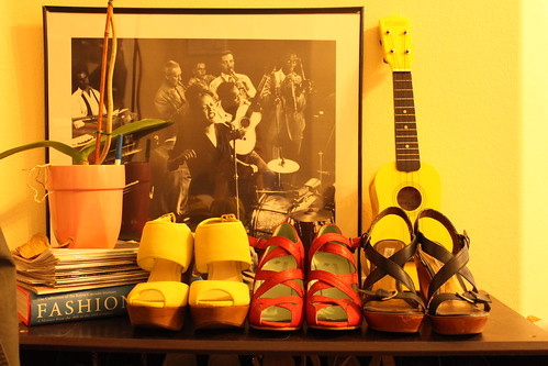 billie holiday watches over my shoes