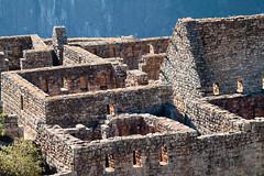 Stone buildings of Machu Picchu