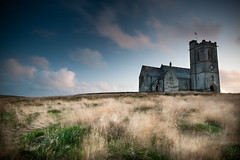 Lundy Island, Bristol Channel, UK (jogorman) Tags: longexposure england sky blur church grass night clouds landscape island evening twilight nikon dusk united sigma kingdom explore devon nd grasses tall 1020mm polarizer grad 1020 isle lundy graduated density devonshire ilfracombe neutral bristolchannel cokin polariser puffinisland explored celticsea d3x
