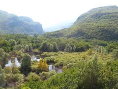 Lago di Loppio da passo s. Giovanni