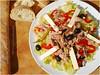 Thunfischsalat | Tuna Salad (Soupflower's Blog) Tags: food blog salad mediterranean cucumber tomatoes gurke fisch gourmet onions lettuce olives oil vinegar peppers tuna salat paprika tomaten mediterran zwiebel öl essig oliven eisbergsalat kapern thunfischsalat soupflower beyazpeynir wwwsoupflowercomblog weisskäse