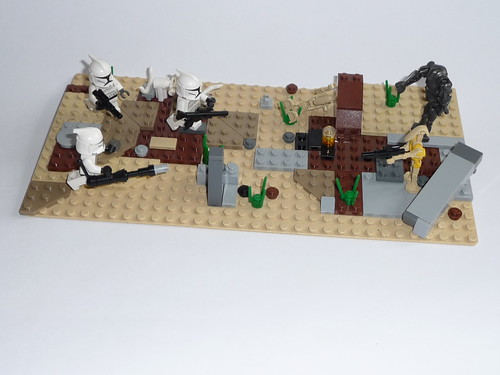 Star Wars Clones vs Droides Star Wars Clones vs Droids