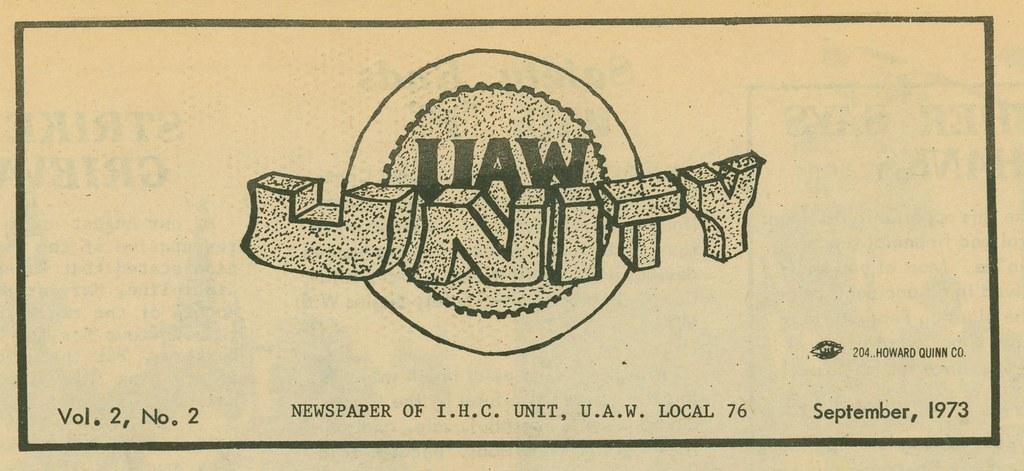 UAW Unity (1973)