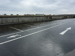 Inches of water on top level of South College Street, Aberdeen car park as one month's rainfall in 1 day (iainh124a) Tags: uk bus retail train mall lumix scotland railway shoppingcentre panasonic aberdeen hammerson tz7 millerconstruction dmczs3 iainh124a dmctz7 zs3